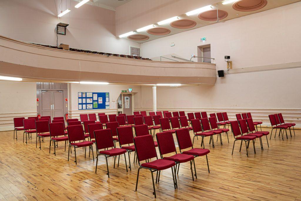 Main Hall - Concert Setup